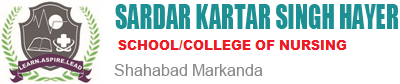 SARDAR KARTAR SINGH HAYER COLLEGE OF NURSING
